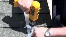 DIY SOLAR PANEL INSTALL SHINGLE ROOF FREE POWER HIGH POWERED SOLAR SYSTEM