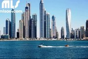 Partial Marina and Sea View  3 BR Apt  Marina Pinnacle  Dubai Marina - mlsae com