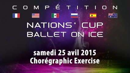 Nations'Cup - Ballet on Ice 2015 - Choregraphic Exercise