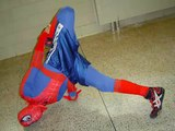 Spiderman Bboying (10/31/06)