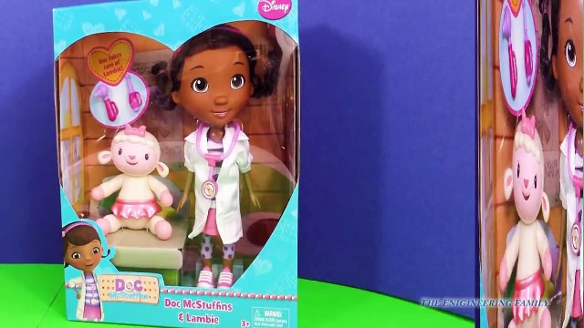 DOC MCSTUFFINS Disney Junior Doc McStuffins & Lambie a Doc McStuffins Toy Video