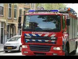 Prio 1 TS221 HV141 A1 MICU Ambulance  Lifeliner 2 / MMT Politie  Opname Schiebroeksestraat Rotterdam