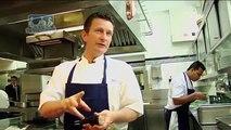 Two Michelin starred chef Gary Jones creates lobster on a plancha, potato and caviar recipe
