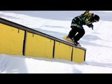 Steezy Spring Sessions Snowboarding In Cali