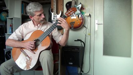 Bernard LAVILLIERS On the road Again-guitare (complet)