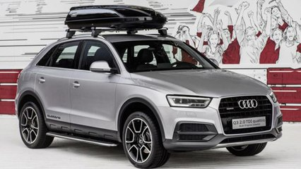 Audi Q3 Off-Road Style Package Unveiled At Wörthersee