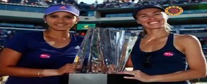 Mirza-Hingis win their maiden title together  - Faster - HD