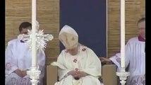 Pope Benedict XVI falls asleep @ Malta