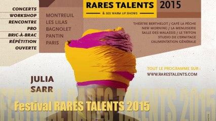 Festival RARES TALENTS 2015