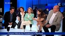 Audrey Vernon sur l'élection de François Hollande face a Edwy Plenel et Rosanvallon