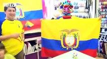 Football / France - Équateur : des supporters tiraillés - 23/06