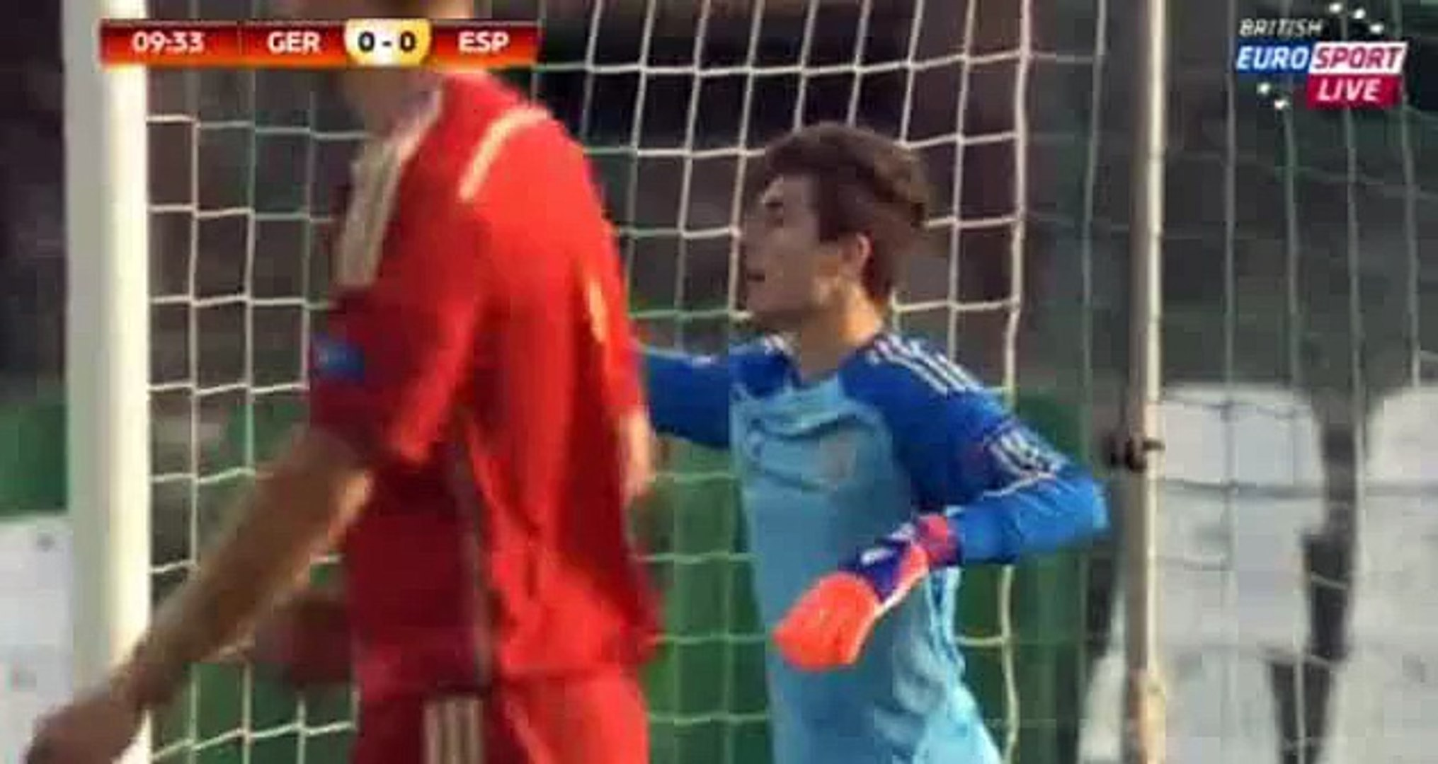 1st chance Germany vs Spain Under U17 Euro 15.05.2015