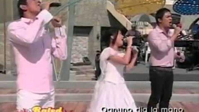 Gary V, Jed Madela & Charice sing 'The Prayer' on ASAP