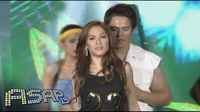 Enrique Gil, Maja Salvador heat up ASAP Supahdance stage