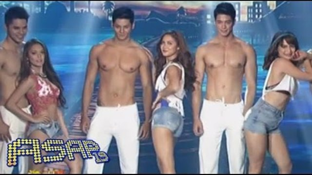 Dance Divas Maja, Jessy & Bangs fire up the ASAP stage with hunks Hideo, Brent & Sam