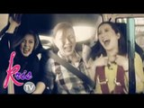 Kris, Carmina and Shaina, car drifting