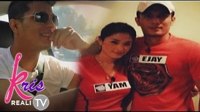 Ejay Falcon, Yam Concepcion relationship
