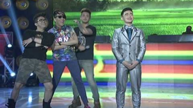 Vice, Vhong, Billy new dance steps