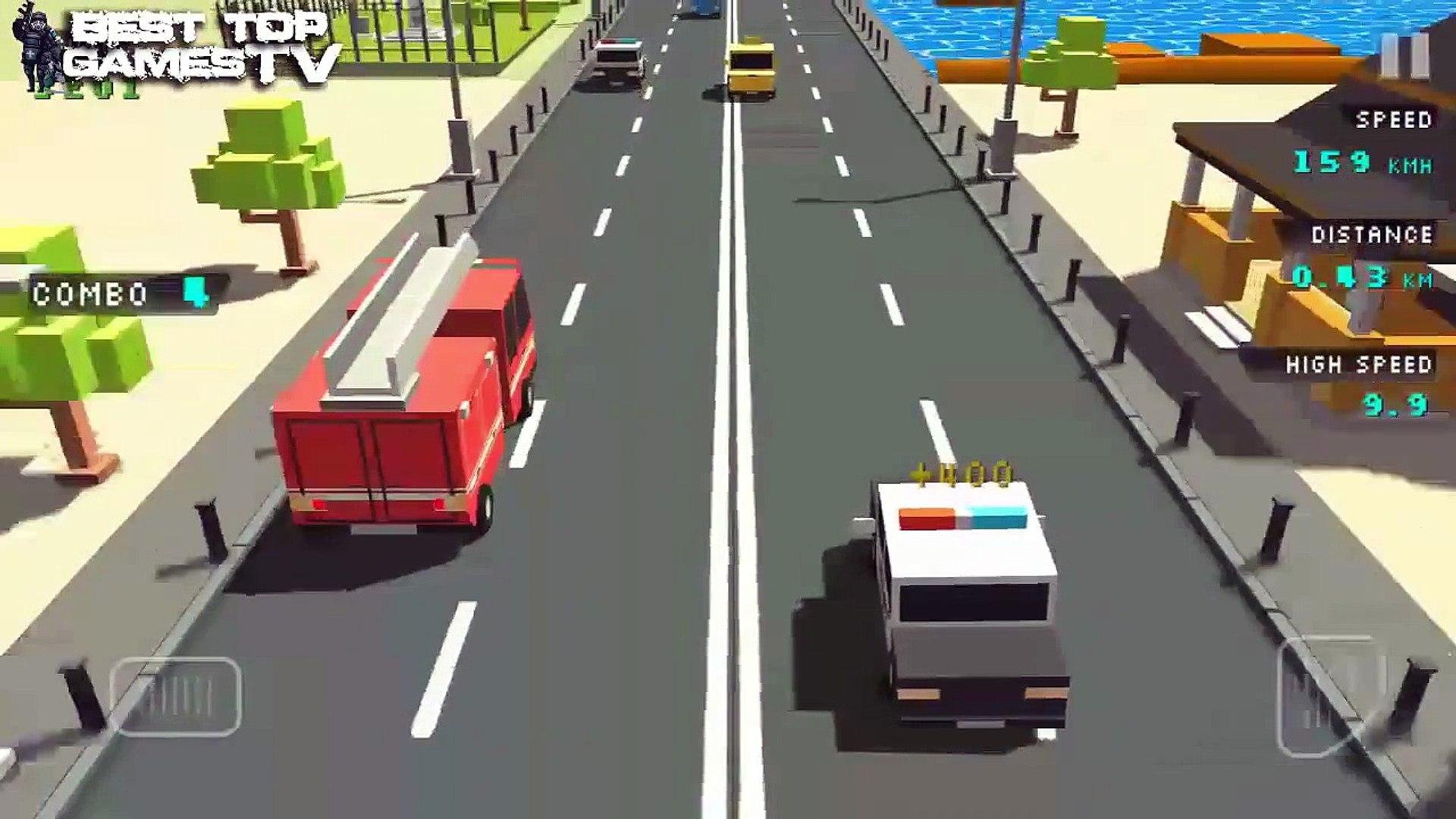 Blocky Traffic Racer Universal HD GamePlay Trailer