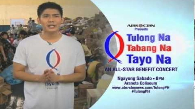 Robi Domingo on TULONG NA, TABANG NA, TAYO NA : An All-Star Benefit Concert