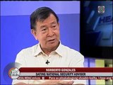 Norberto Gonzales itinangging nagpaplano ng coup