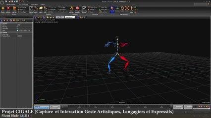 CIGALE : Motion Capture