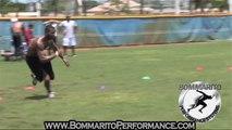 Louis Murphy Wide Receiver Oakland Raiders Speed Training