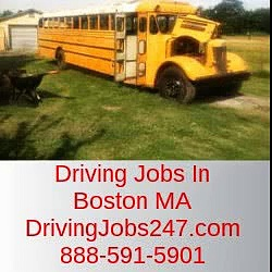 Driving Jobs In Boston MA. Go to DrivingJobs247.Com or 888-591-5901