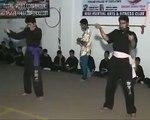 WMA Fight Club Double Nun chuk  performence