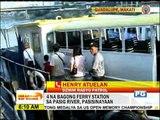 4 na bagong istasyon ng Pasig River Ferry, pasisinayaan