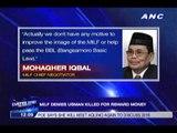 MILF denies Usman killed for reward money