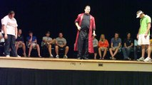 Hypnotized Kung Fu college students