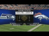 Super Bowl XLVIII: Seattle Seahawks v Denver Broncos - Madden NFL 25 Prediction HD