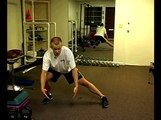 Lower Body Cross Training Exercises : How to Do a Side Lunge Lower Body Exercise