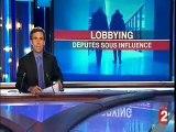 Le lobbying Journal télévisé France 2 20H 10 mars 2009 - Jérôme Bignon