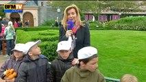 """Valérie Trierweiler: """"Je dis au Secours populaire: 'Merci pour ce moment!'"""""""