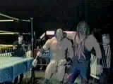 Kane fights vs batista leviathan in ovw