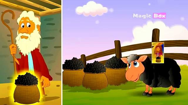 Baa Baa Black Sheep – English Kids Nursery Rhyme (Sheep And Little Boy) – Video Song For Children