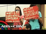 MRT-LRT fare hike protests continue