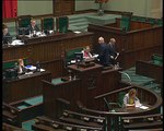 Poseł Artur Dębski - Wystąpienie z dnia 14 maja 2015 roku.