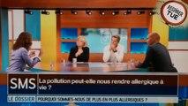 Pollution de l'air Chamonix Vallée de l'Arve Le Magazine de la Santé France 5 Mai 2015