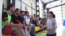 Çukurca'da Streetball Turnuvası