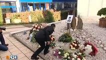 Trauerfeier für Jonny K. - Familie und Freunde nehmen Abschied