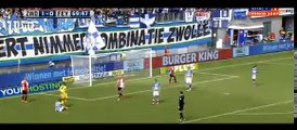 Goals and Highlights - PEC Zwolle  3-0  Feyenoord - 17.05.2015