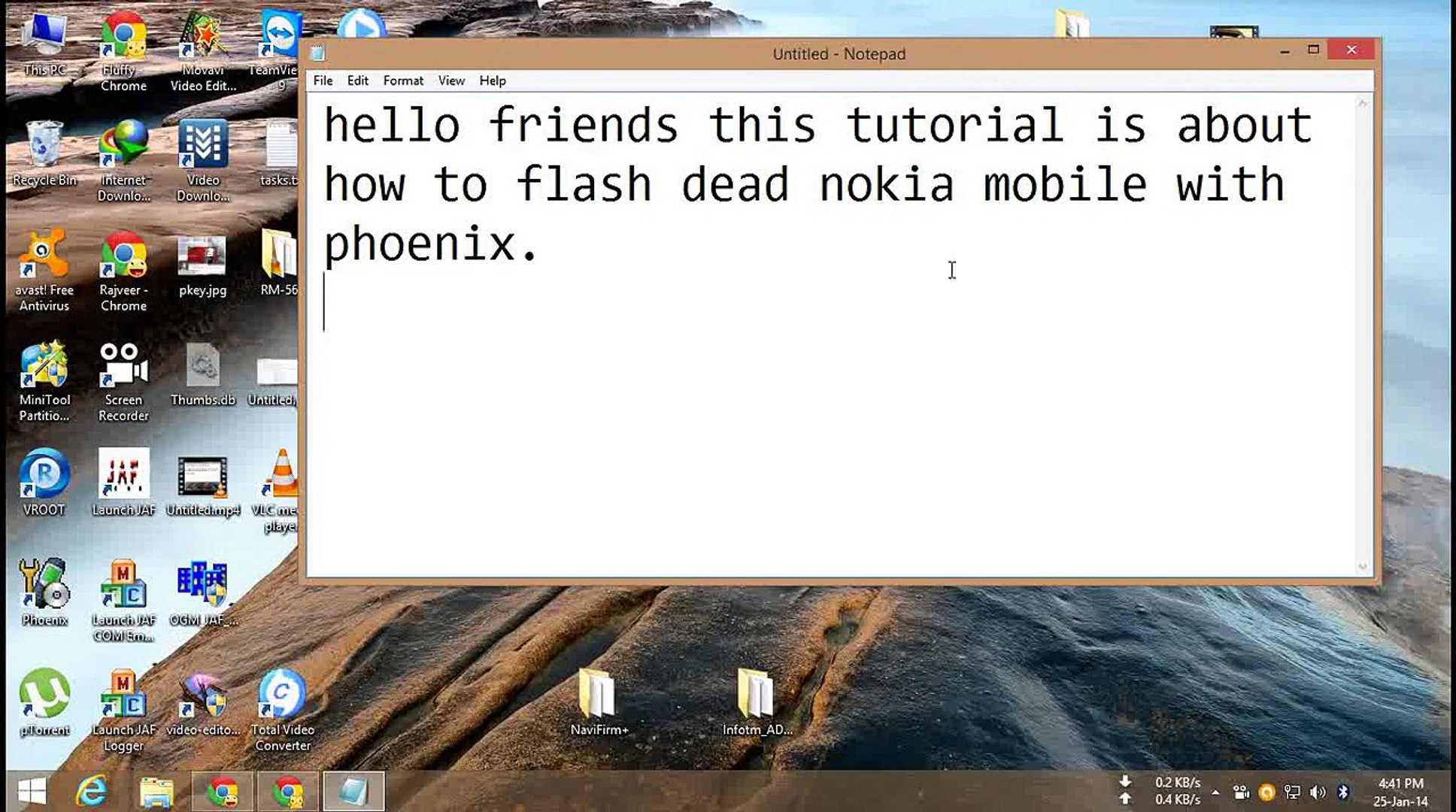 How to flash dead nokia mobile with phoenix by Pawneshwer Gupta