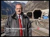 Railway technology at the Gothard base tunnel