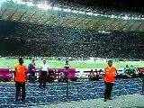 Italy v France, End of game Celebrations, Italian Anthem!!!
