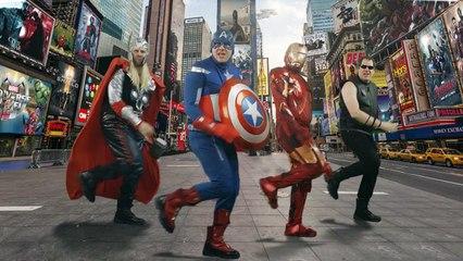 """Les Avengers version """"Uptown Funk"""""""