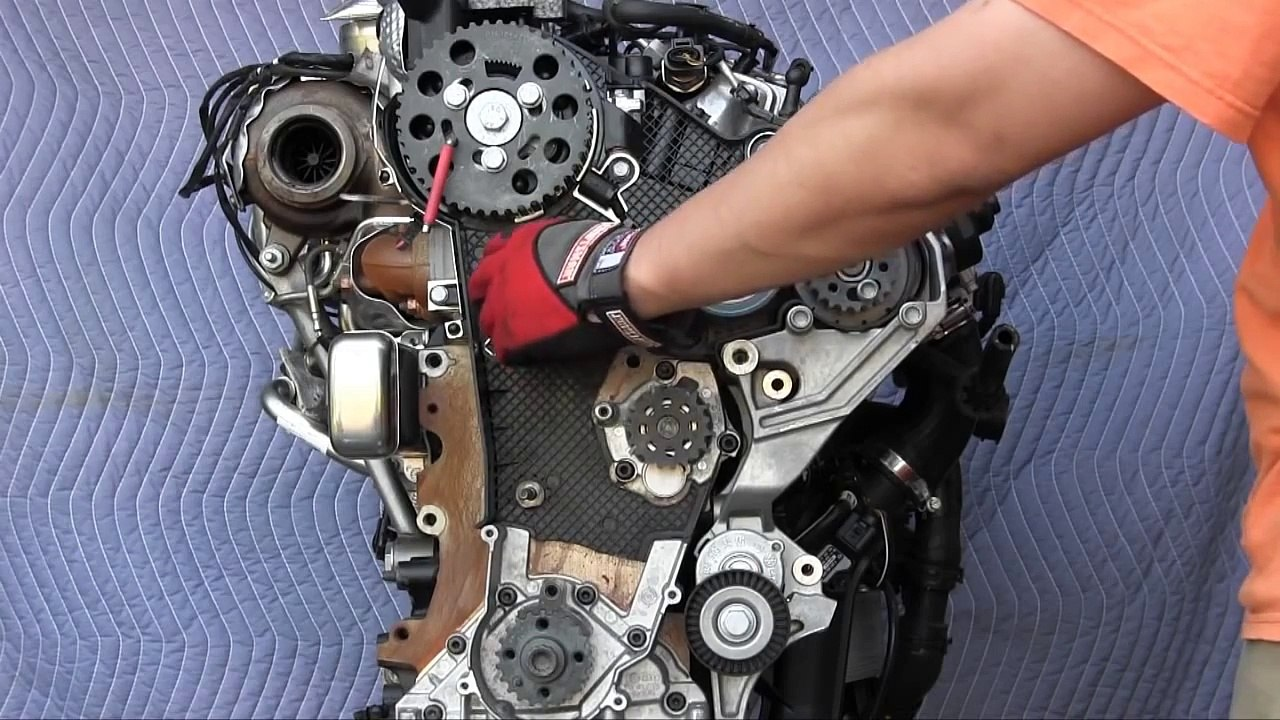 Vw 2 0 L Engine Belt Diagram