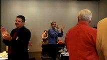 President Chris Algeo - Hands the Gavel to President Janet Olejar